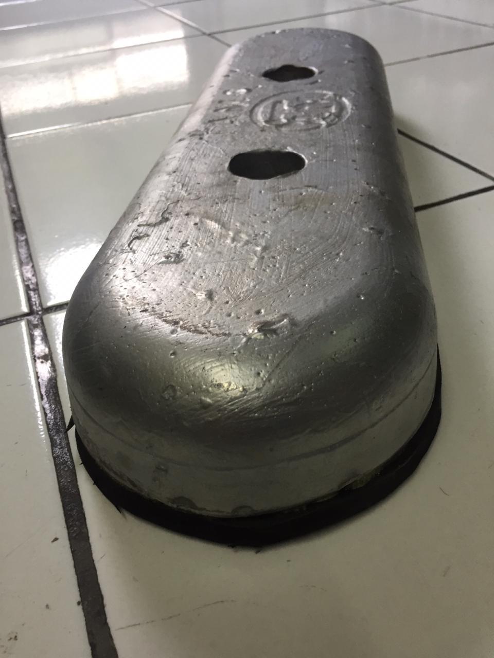 Alumunium anode - Bolded type - 5