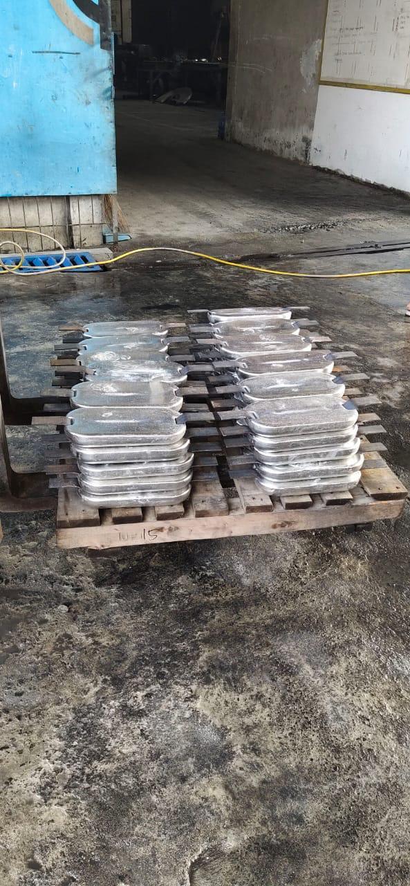 Alumunium anode - Welded type - 3