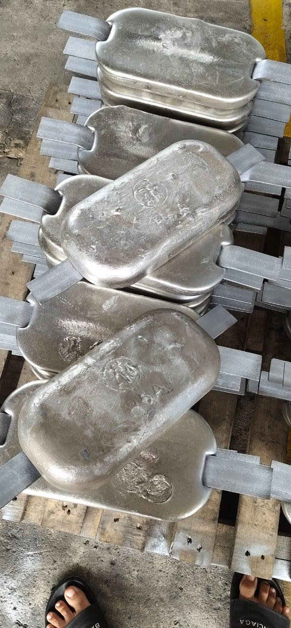 Alumunium anode - Welded type - 4